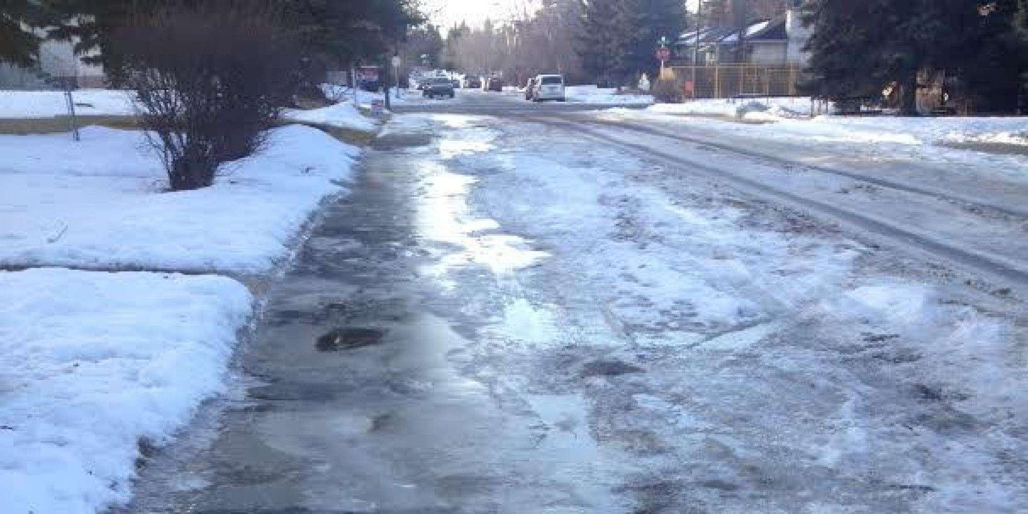 lawyer slip on ice